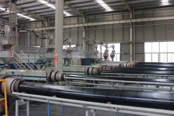 超高分子量聚乙烯管生产线